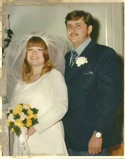 It All began...Our Wedding Jan 14 1982