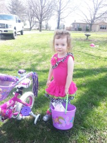 Carly , Easter 2014