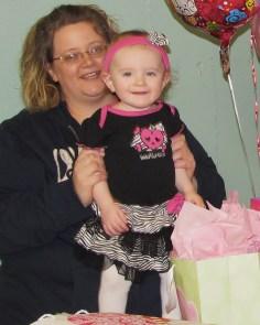 Carlys 1st Birthday- Jan 2013