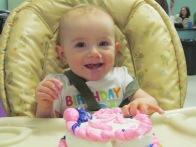 Carlys 1st Birthday Cake