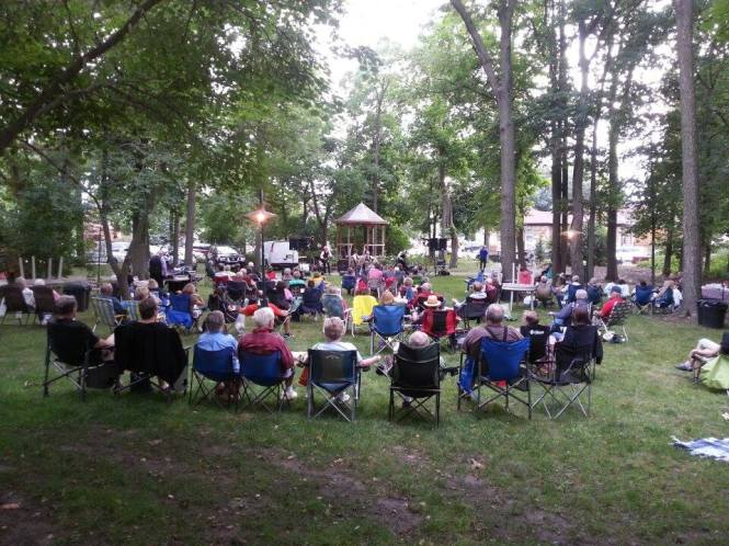 Summer Concert Series.....  Music by Bag Shot Row....  New Gazebo on the West Lawn