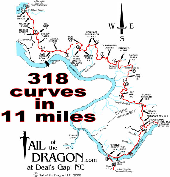 We Rode The DragonRichs Bucket List AND LET THE FUN - Us 129 map
