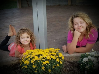 Carly 4, & Cassidy 12, ...Sisters...
